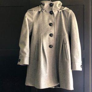 DKNY Heather Gray Coat